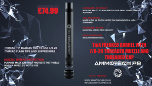 Ammotech Tipx Freak Barrel with Threaded Tip