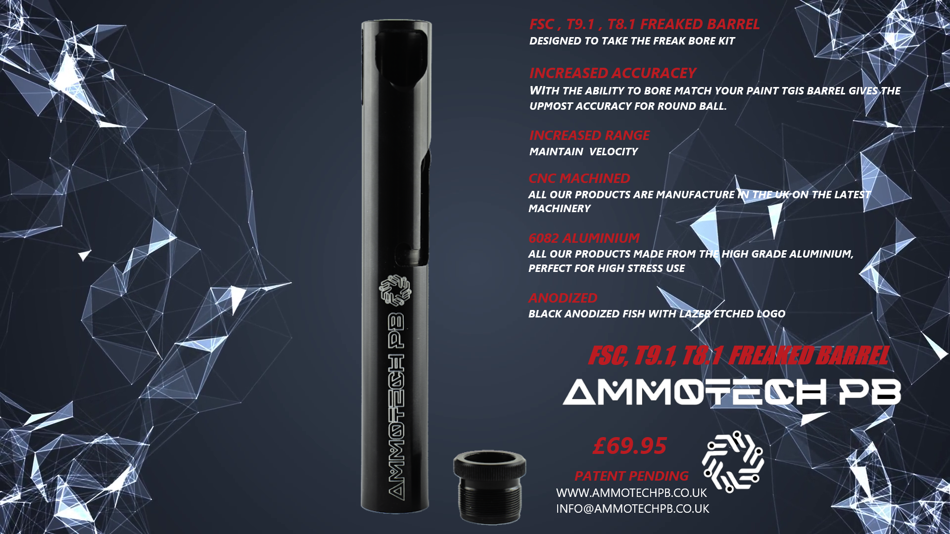Ammotech Freak Barrel for 8.1 / 9.1 / FSC