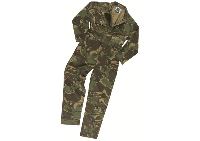 H18 All-in-One Camo Overall