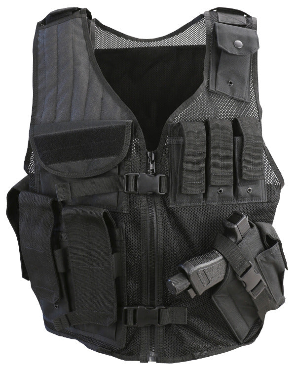 Cross Draw Tac Vest