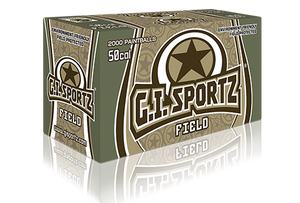 G.I Sportz Field 0.50cal Paintballs Box Of 2000