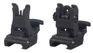 Polymer Flip Up Sights Set