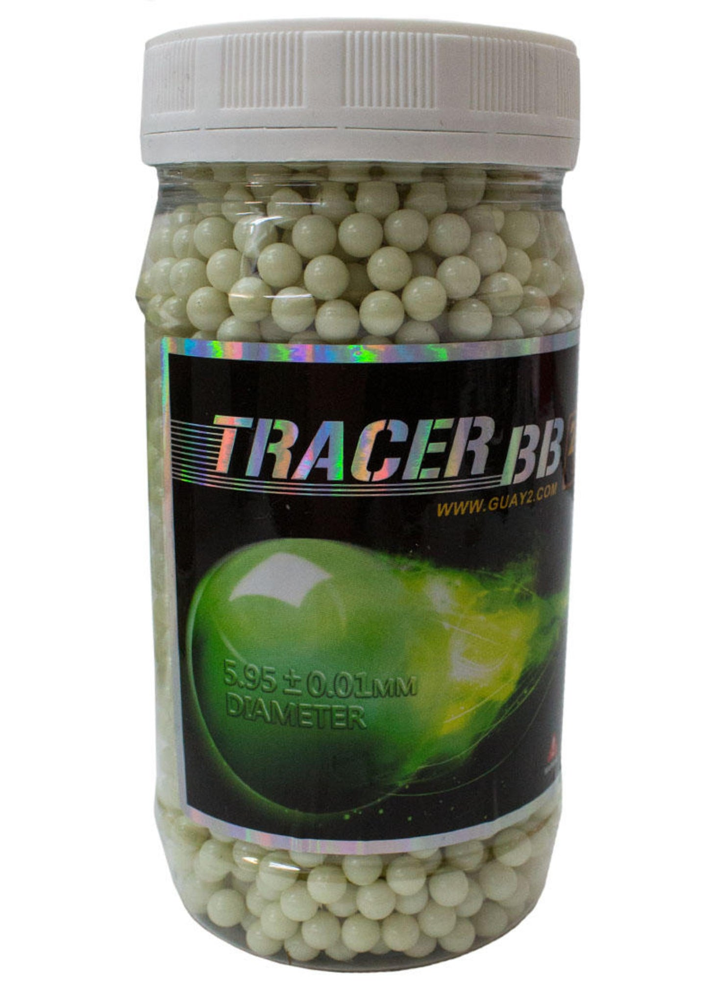 G&G Competition Grade Tracer 0.20g BB's Red / Green (2400 - Bottle)