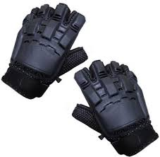 JP Half Finger Armour Gloves
