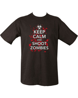 Keep Calm Shoot Zombies T-Shirt