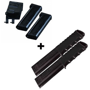 Tippmann Magfed Adapter Kit + 12 Ball Extended Mags