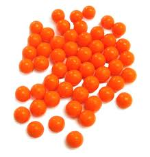 2000 Orange Paintballs