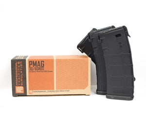 PTS Syndicate Airsoft PTS RM4 ERG Magazine Box of 3