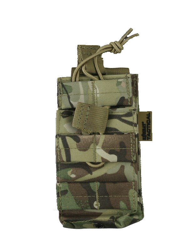 KOMBAT MOLLE SINGLE DUO MAG POUCH BTP