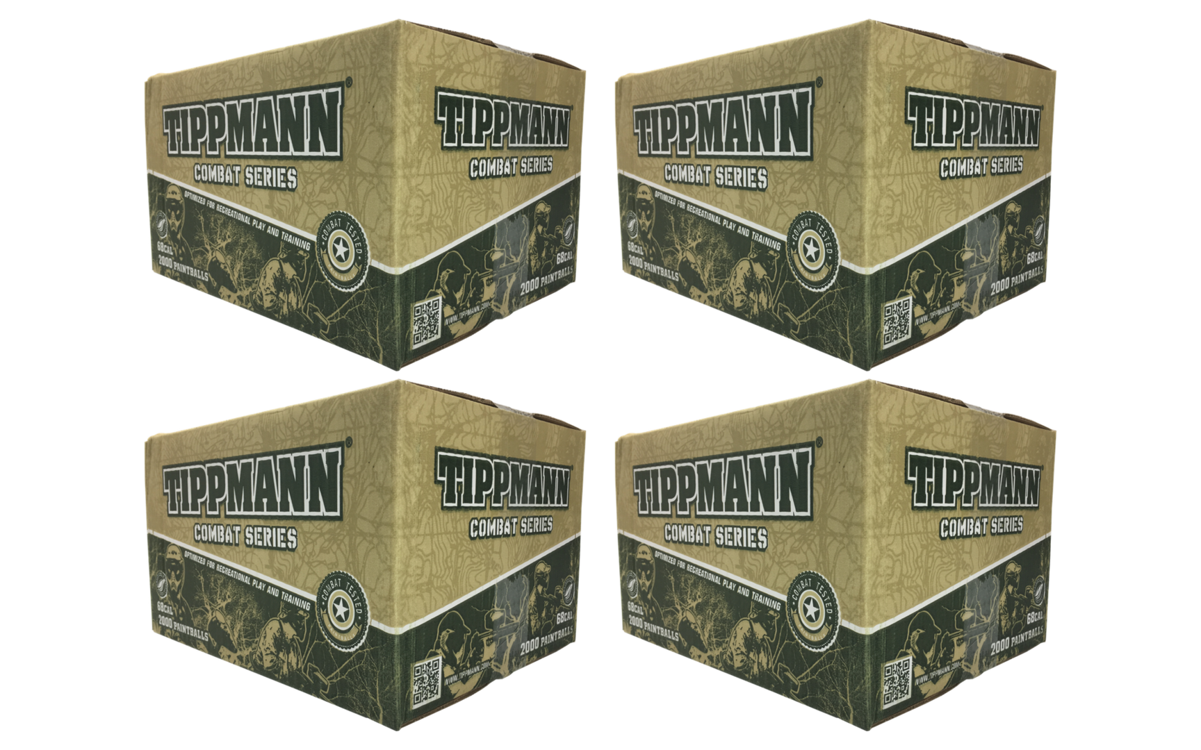 Tippmann Combat 4 Box Bundle