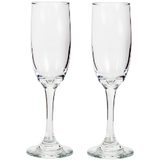 Set of Custom Champagne Flutes - Krumble Krafts