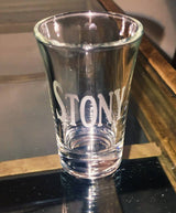 Shot Glass ~ Etched Glass ~ Inspire ~ Custom ~ Gift
