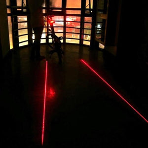 Laser LED Bicycle Taillight