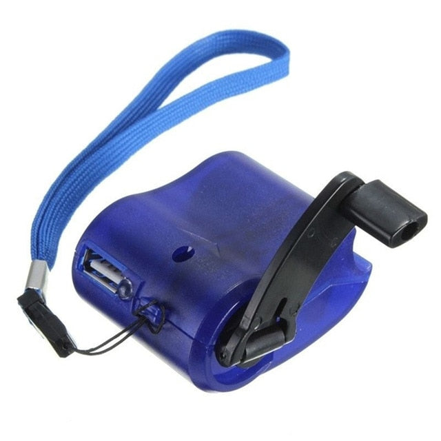 Portable USB Hand Crank Phone Emergency Charger