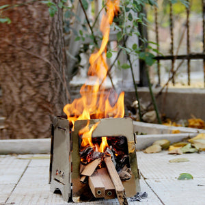 Folding Outdoor Camping Wood Stove