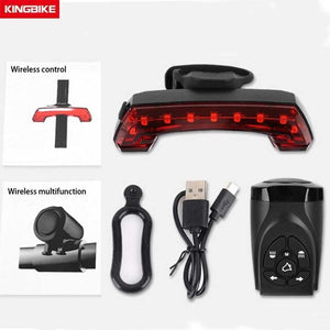 BASECAMP USB Rechargeable Taillight Bike