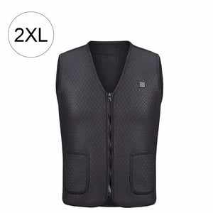 USB Infrared Electric Thermal Heating Vest Winter Jacket