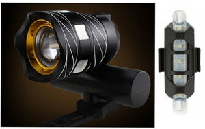 15000LM Free Zoom Waterproof T6 LED