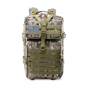 50L Capacity Men Army Military Tactical Large Backpack