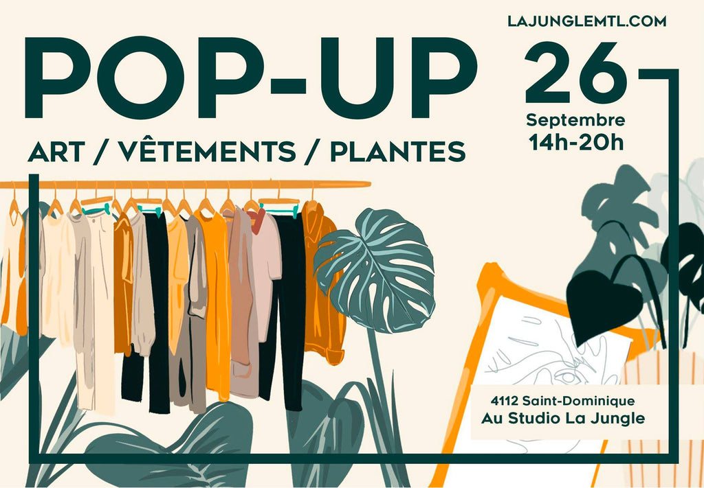 Pop-up Friperie & Plantes @La Jungle