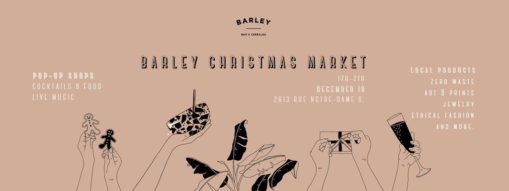 Pop-up au Barley Christmas Market