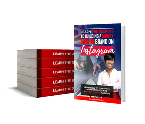 LEARN THE SECRETS TO BUILDING A MONEY MAKING BRAND ON INSTAGRAM - E-BOOK VERSION