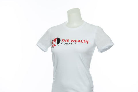 The Wealth Connect White T-Shirt