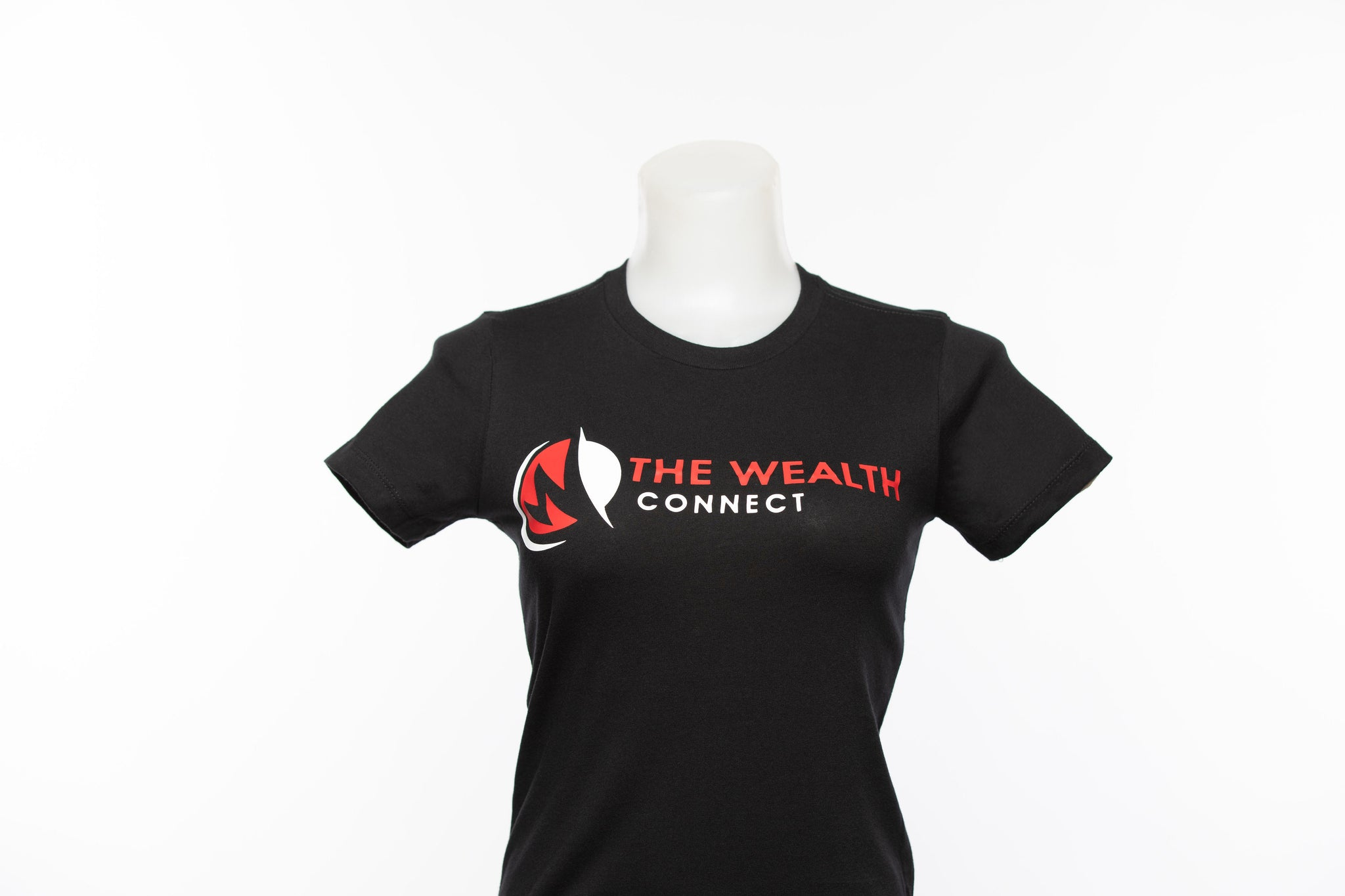 The Wealth Connect - Black T-Shirt