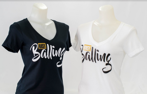 """Busy Balling"" T-shirt for Women"
