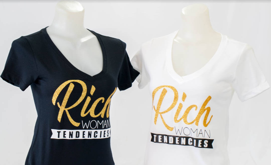 """Rich Woman Tendencies"" T-shirt"