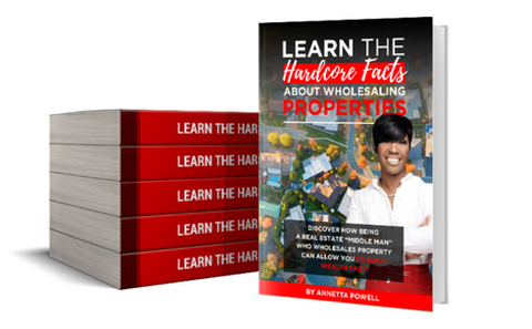 LEARN THE HARDCORE FACTS ABOUT WHOLESALING - E-BOOK VERSION