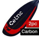 Sea Touring - 2pc Carbon Shaft Paddle - Narrow