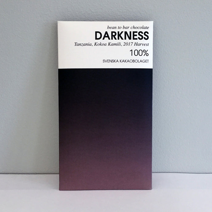 Darkness 100% Chocolate Bar