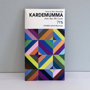 Kardemumma 71% (Cardamom) Chocolate Bar