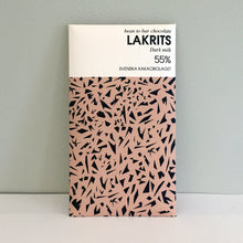 Load image into Gallery viewer, Lakrits 55% (Licorice) Chocolate Bar
