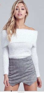 Ivory Fuzzy Sweater