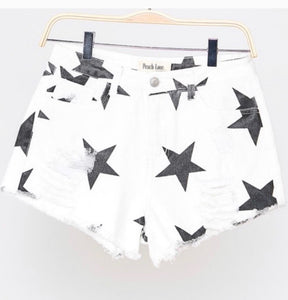 White star shorts