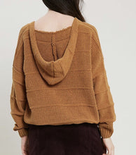 Copper Hooded Sweater