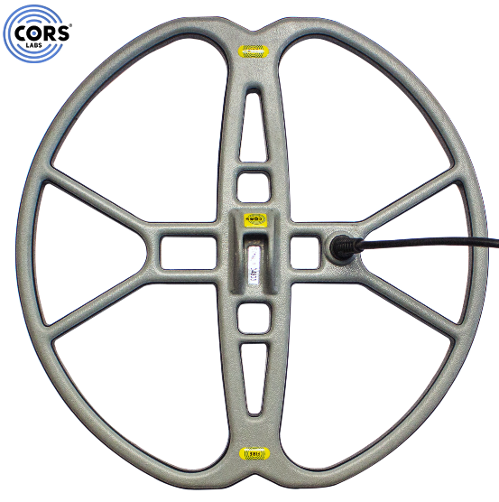 "CORS Fire 15"" DD Search Coil for Makro Gold Racer Metal Detector"