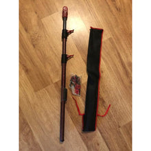 Load image into Gallery viewer, Telescopic  Red/Black Carbon Shaft for Minelab Equinox Detector