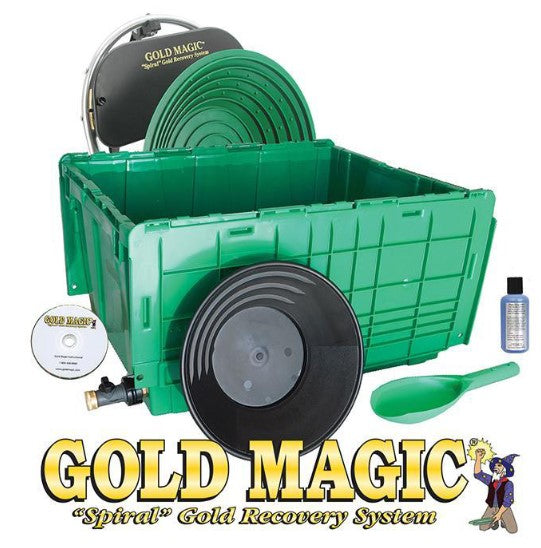 Gold Magic 12-E Kit with the Wet Separation Tub