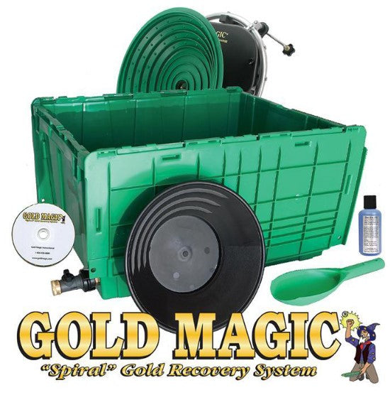 Gold Magic 12-10 Kit with the Wet Separation Tub