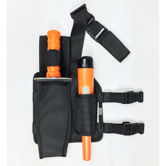 Quest Drop Leg Pouch and Holster for Pinpointer Detector ProPointer ProFind
