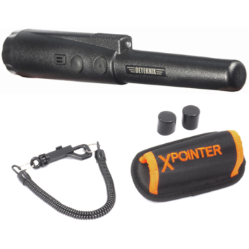 Quest XPointer Water-Resistant PinPointer Metal Detector with RAIT Technology