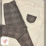 Prince of Wales Check Leggings