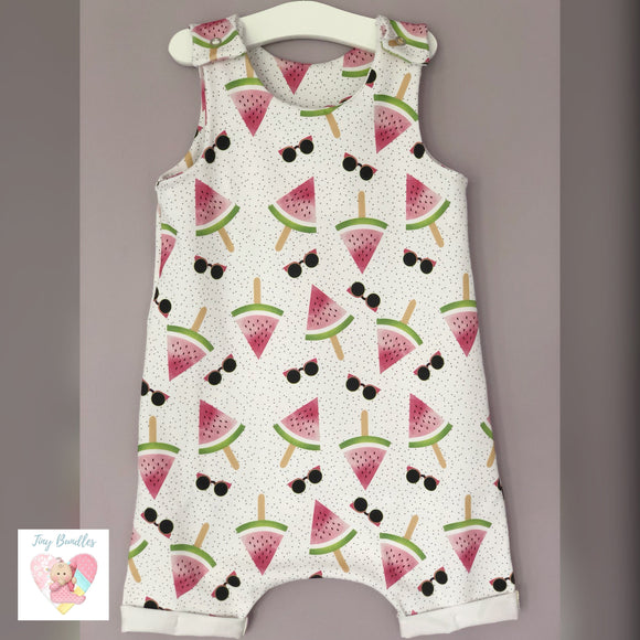 EXCLUSIVE Cool Watermelons Shortie Romper