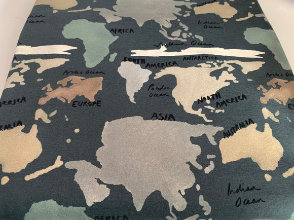 New In World Map Tshirt Dress