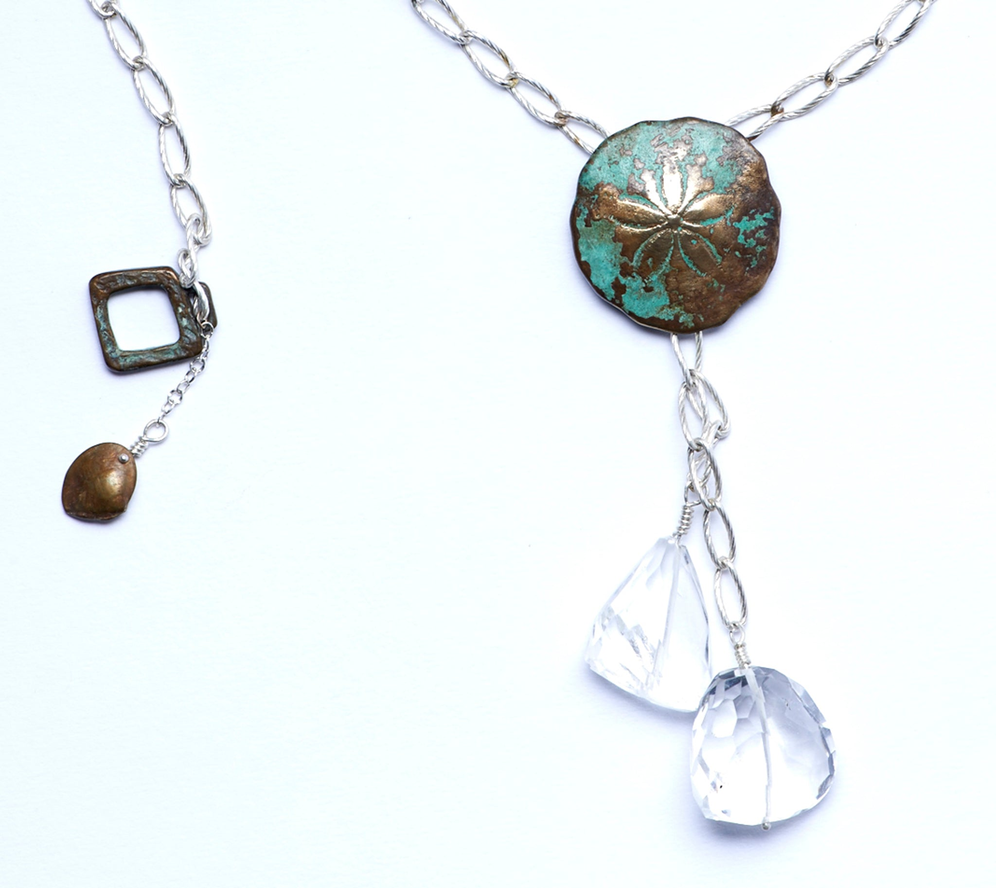 Sand Dollar Drop Necklace