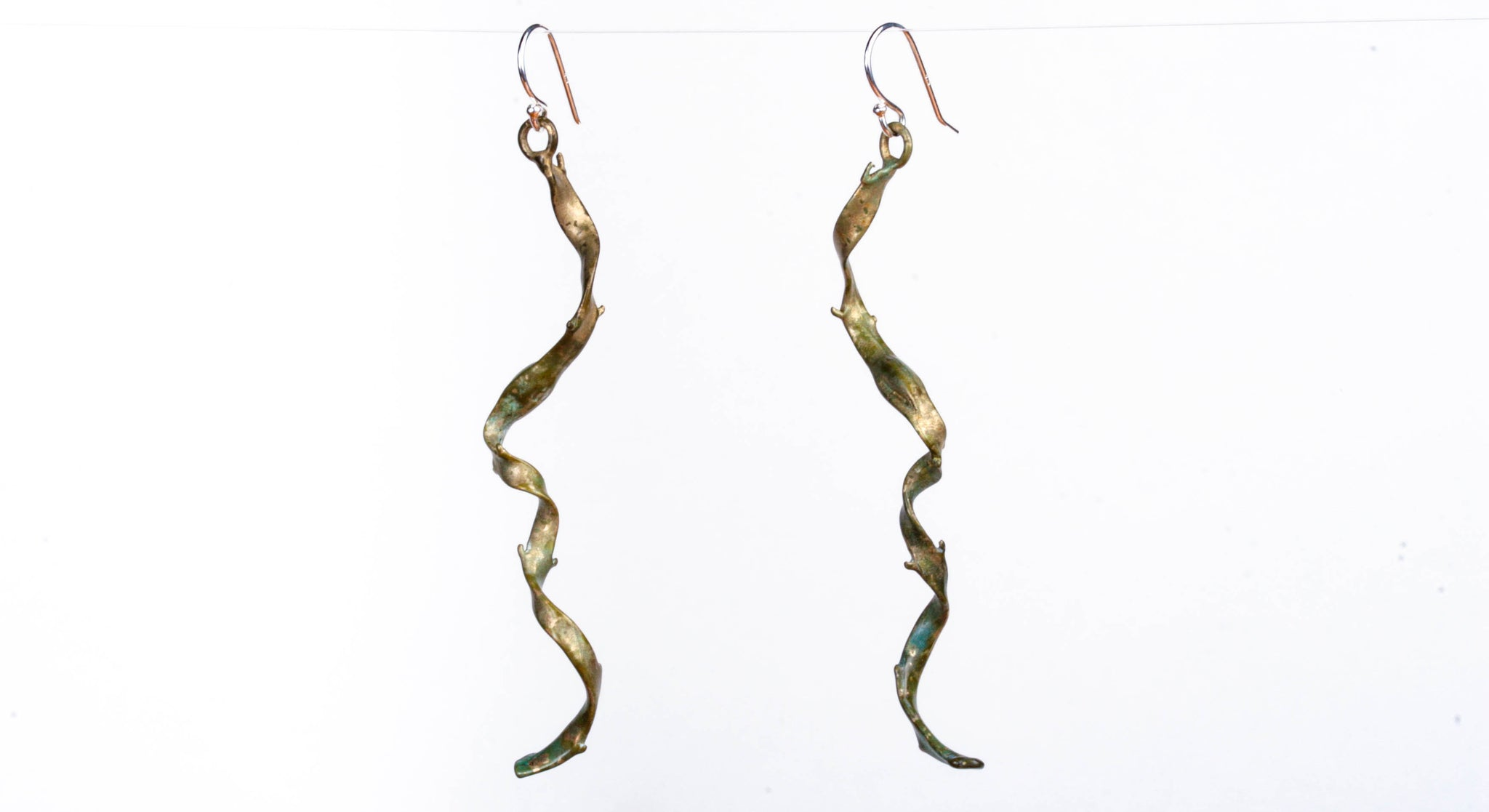 Cherry Hill Beach Seaweed Earrings