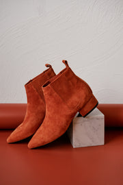 ROVA Orange Suede
